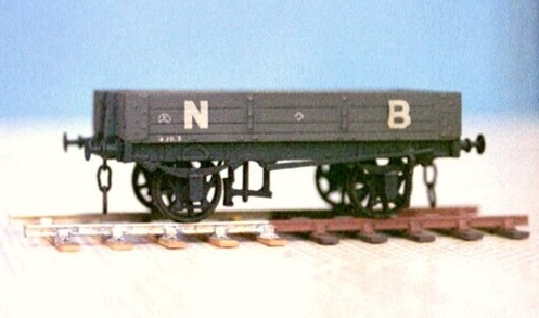 North British Dia 77 3 Plank wagon
