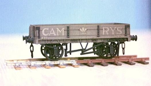 Cambrian 2 plank wagon