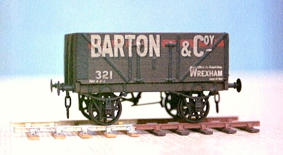 RCH 7 Plank Mineral wagon