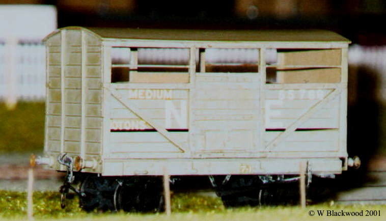 NER Cattle Wagon