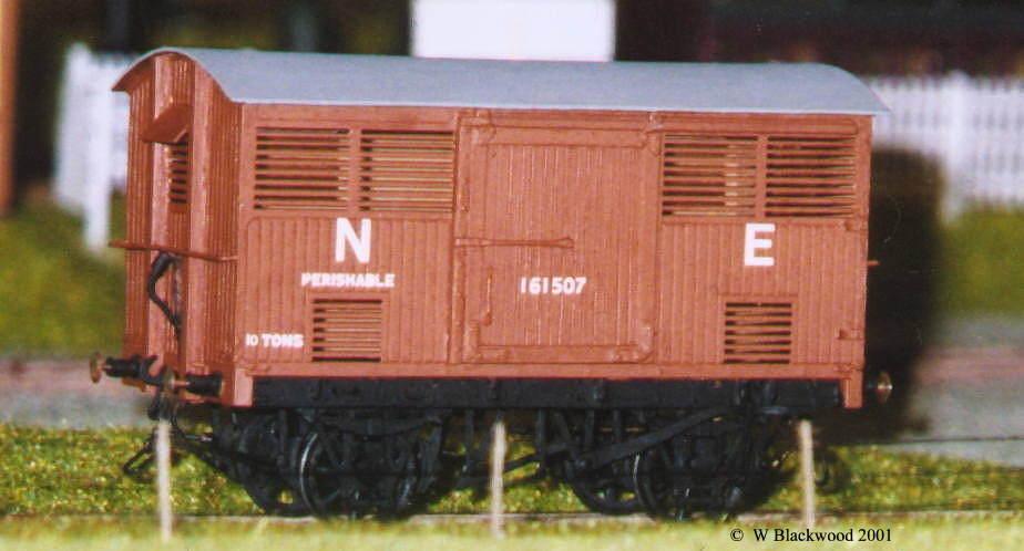 NER 10 ton Perishables Van