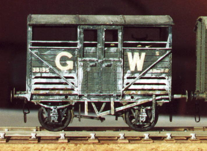GWR Small Cattle Wagon
